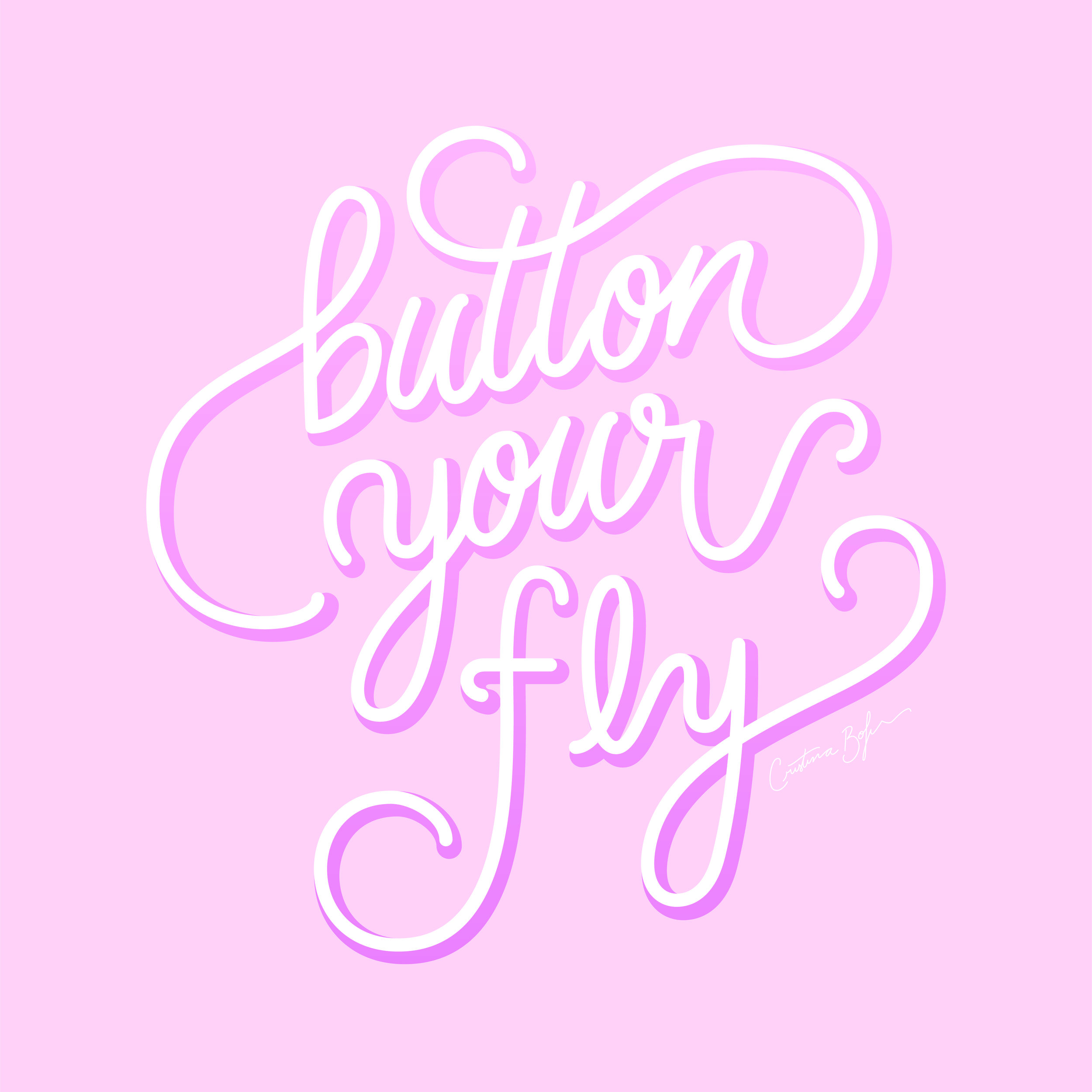 From: Button your fly