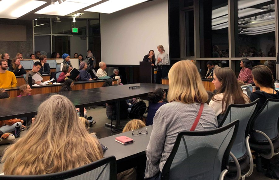 "Campus Group Hosts Panel to Discuss Harmful Effects of Herbicides - Herbicide-Free Cal hosted a panel discussion about the effects of herbicides, with speakers including Dewayne ""Lee"" Johnson, the plaintiff in the recent Johnson v. Monsanto lawsuit."