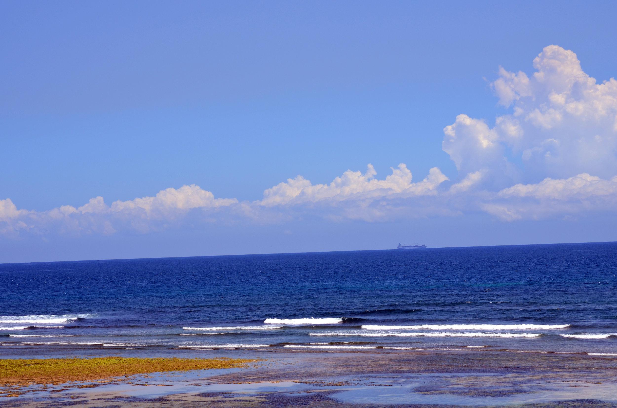 Copy of Indian Ocrean from the shore of Dar es Salaam (AF013)