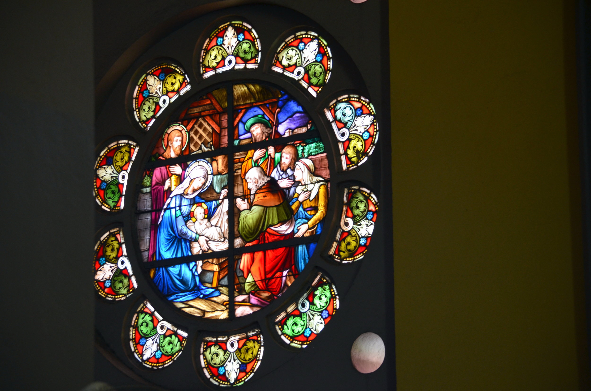 Copy of Stained glass in St. Joseph's (AF036)