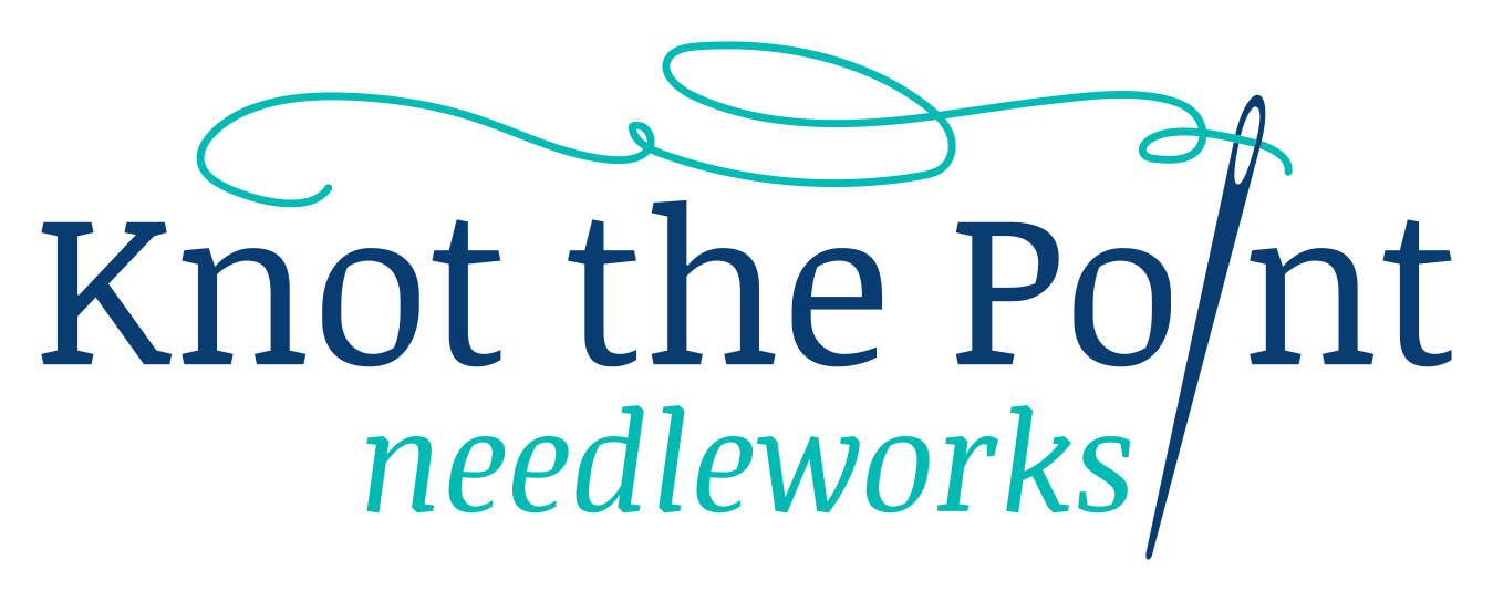 Knot the Point Needleworks Logo.png