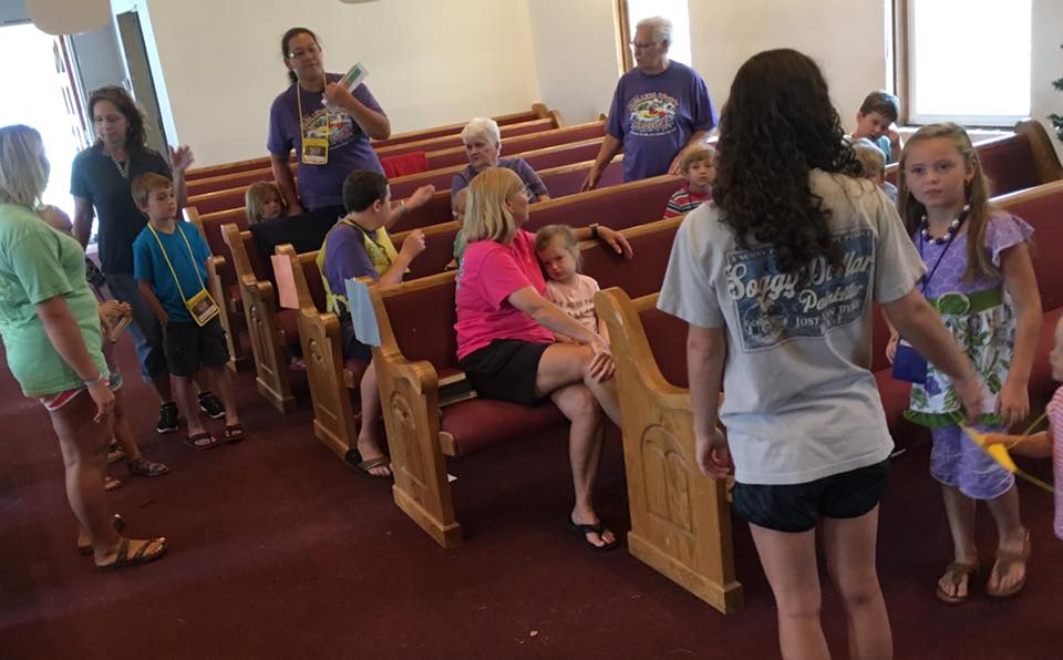 VBS FILLED WITH SUMMER FUN LEARNING ABOUT JESUS