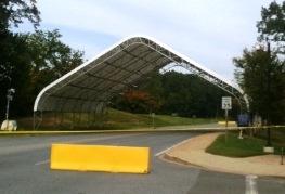 Security Entrance, NICCJV, Pauxtent, VA. 78'L x 80'L x 35'H