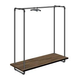1-Rohrfabrik-Kleidergestell-Rohr-Wasserrohr-mit-Holz-Ablage-Tablar-moebeldesign-ladenbau-inneneinrichtung-schaufenster-modeschau-concept-interior-design.jpg