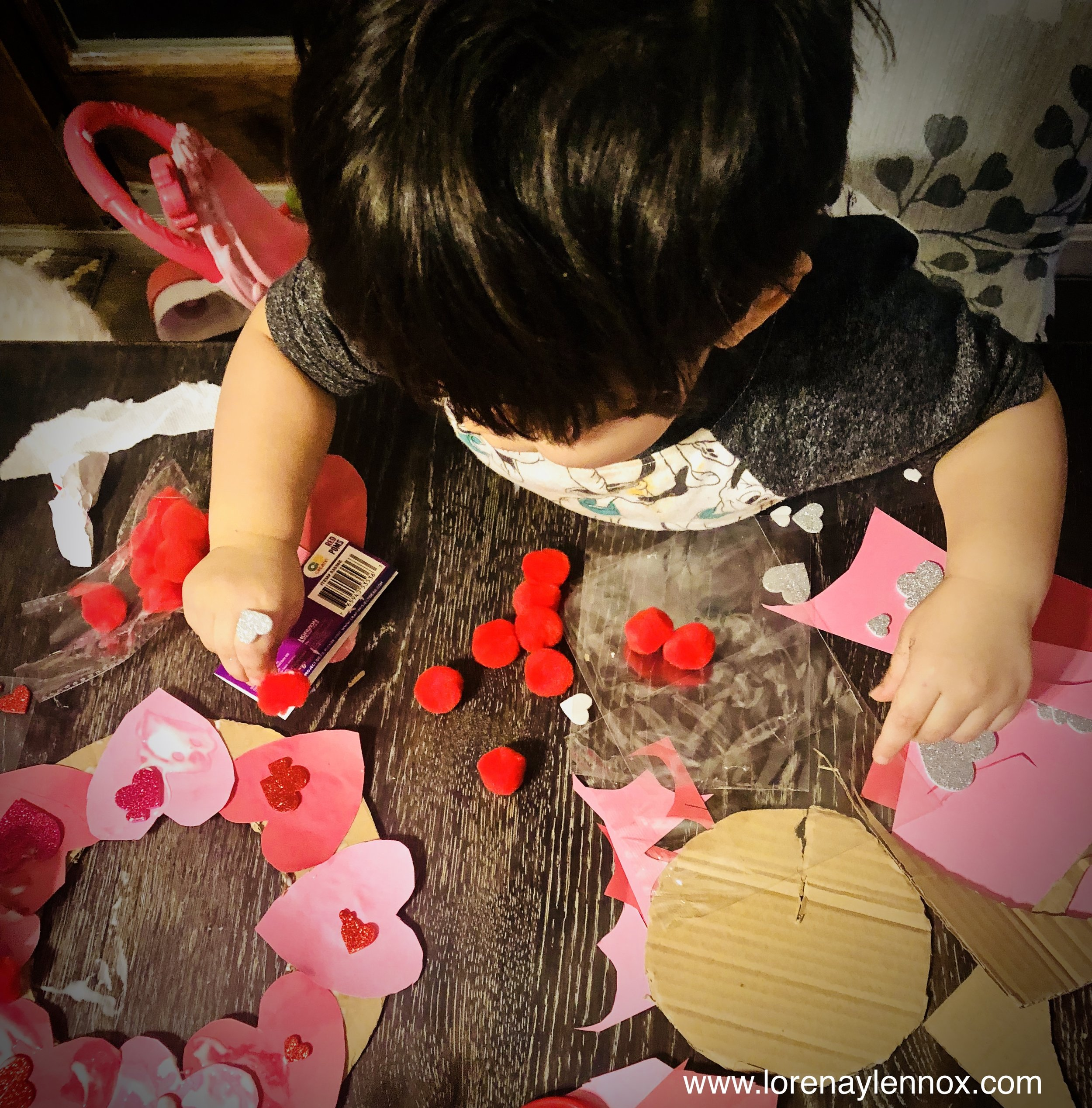Valentine's Day Sensory Activities and Crafts for Toddlers