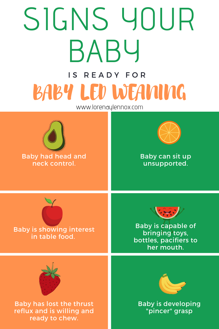 Signs your baby is ready for BLW