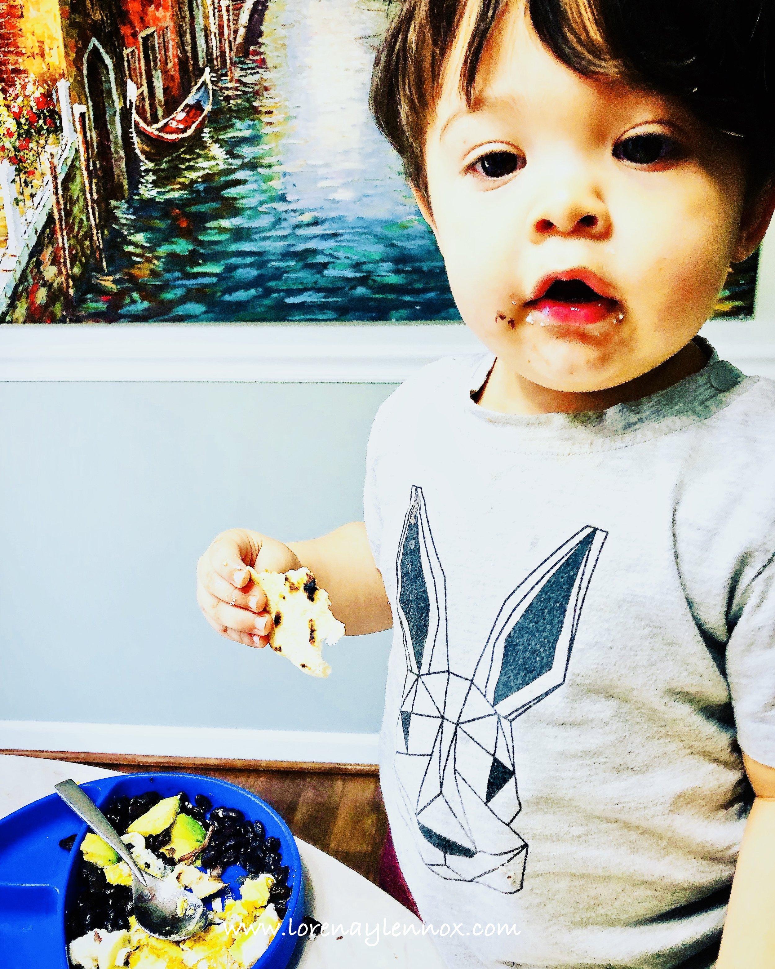 Lennox: Baby Led Weaning