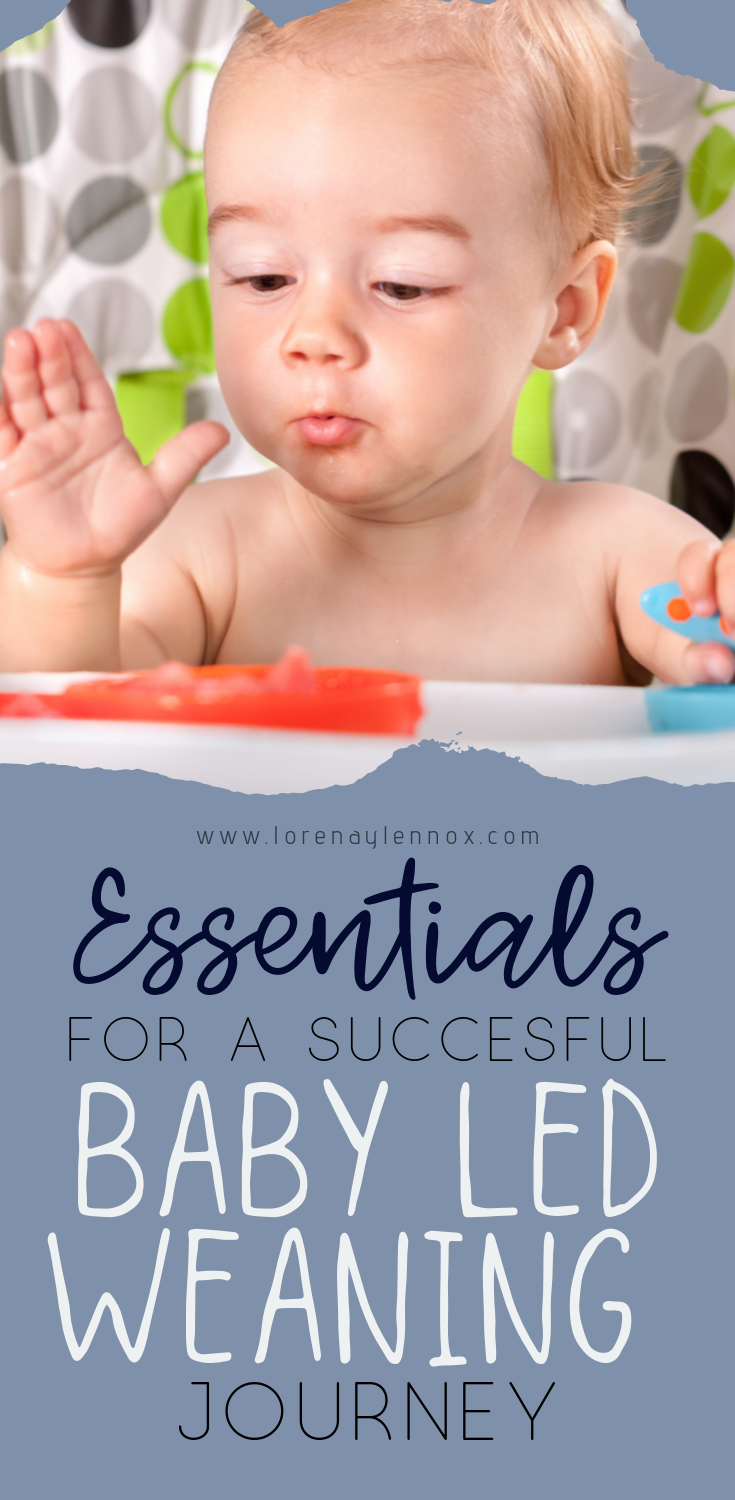 Essentials for a successful baby led weaning journey. #babyledweaning #blw #babyledweaningbenefits
