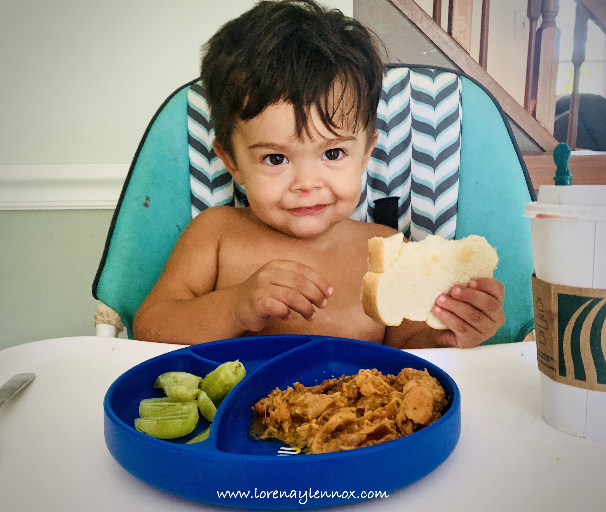 What were some of your favorite products for baby led weaning