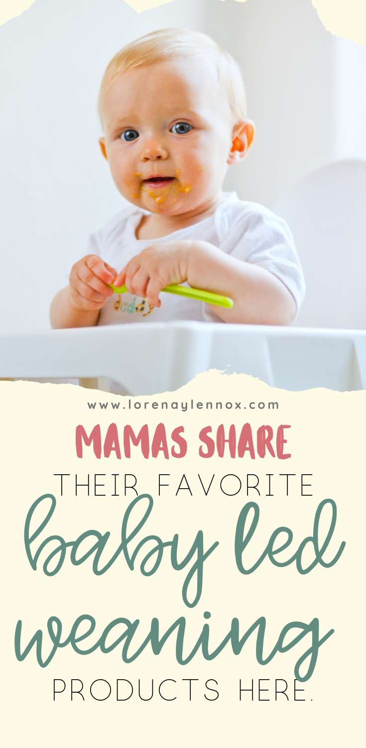 Mamas share their favorite baby led weaning products here #babyledweaning #BLW