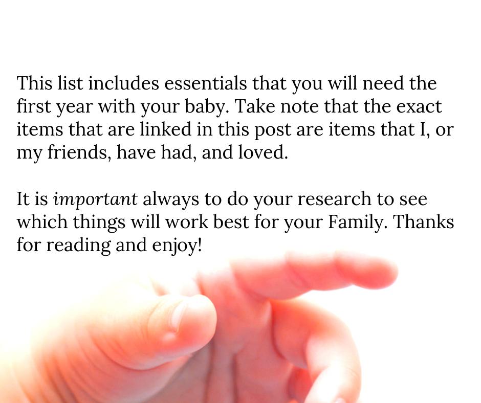 The Ultimate Baby Registry Checklist | Lorena & Lennox