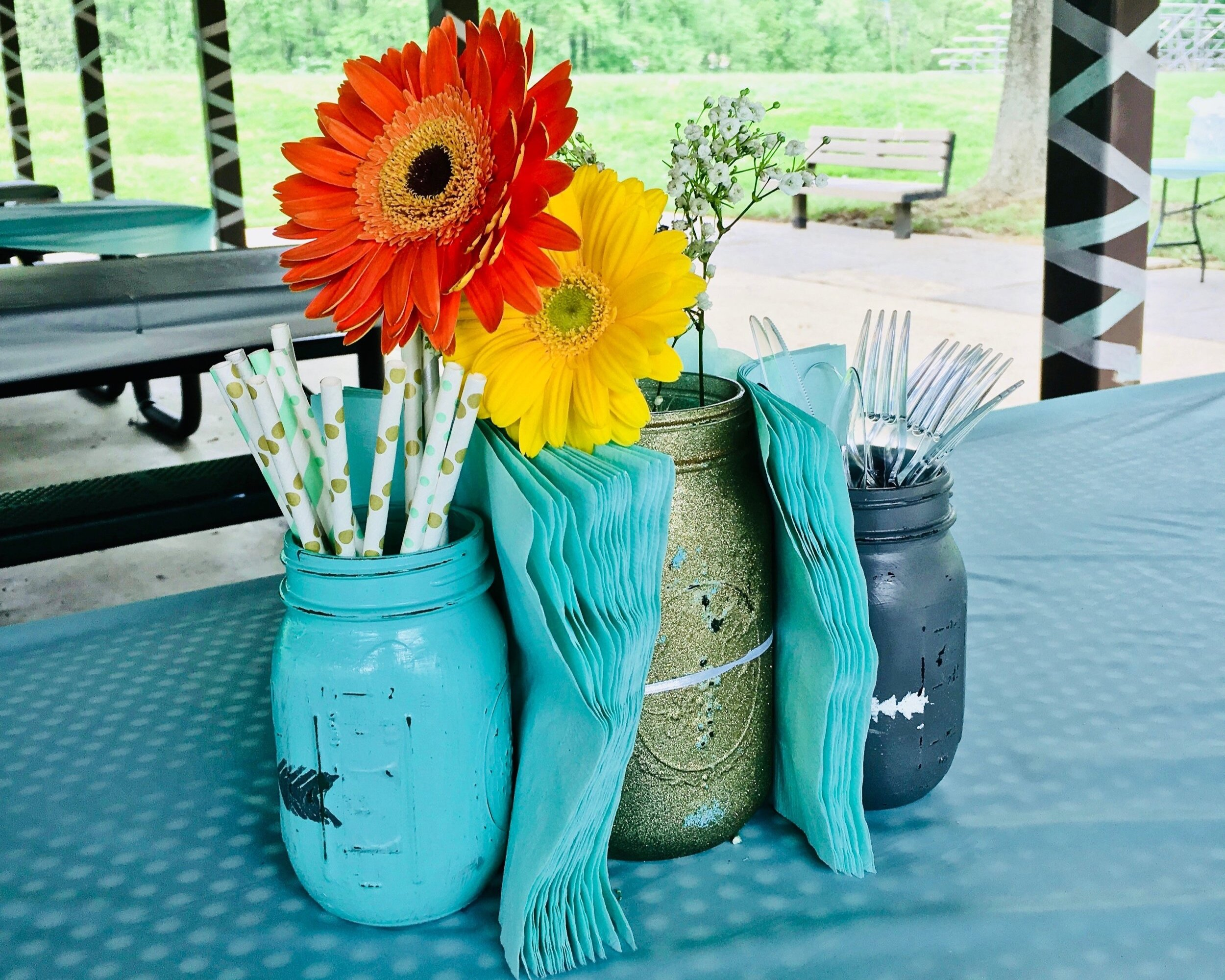 Diy Mason Jar Centerpieces Lorena Lennox Bilingual Beginnings