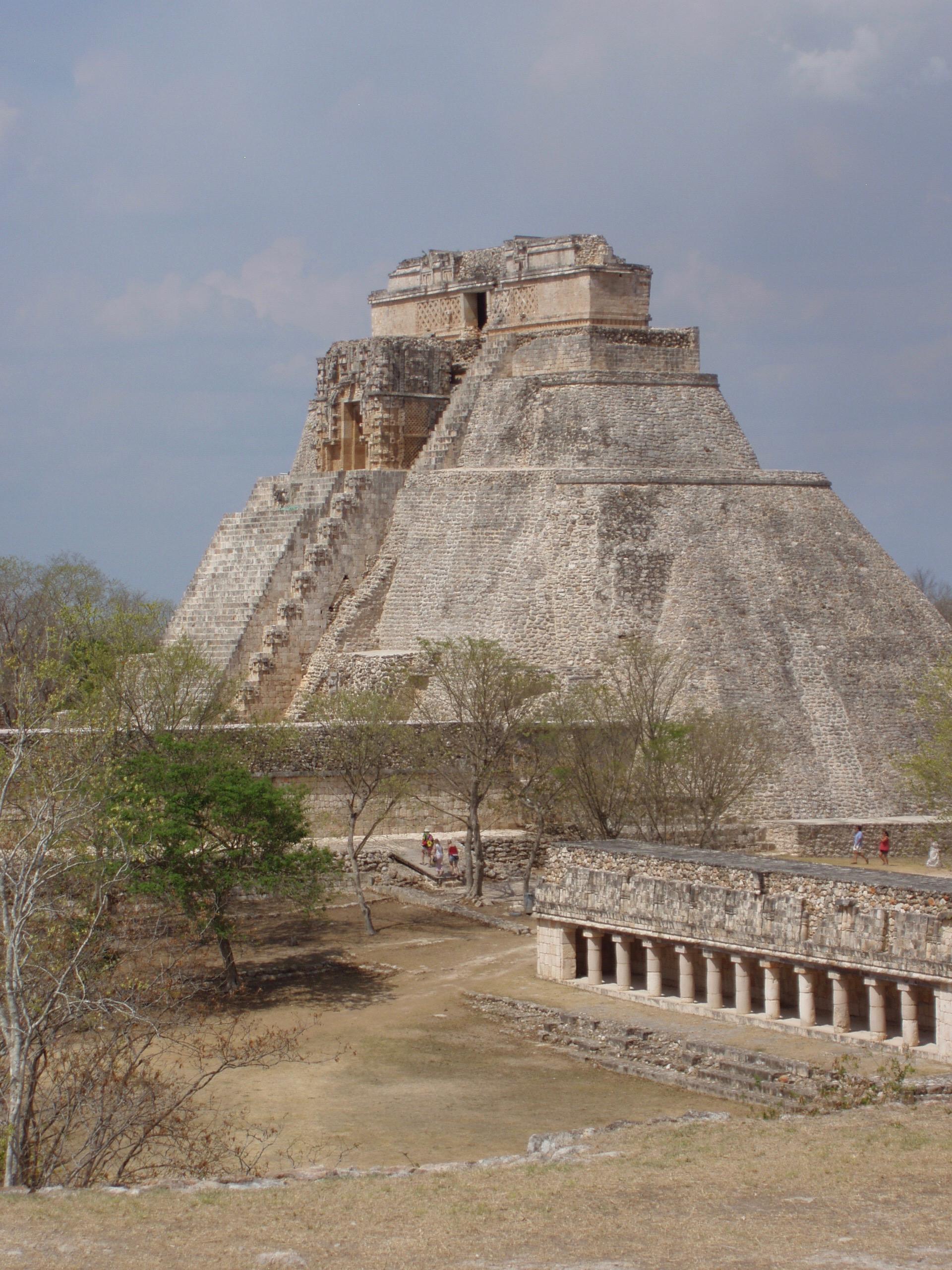 Photo: H.L. Maibom: Uxmal, Mexico 2009.