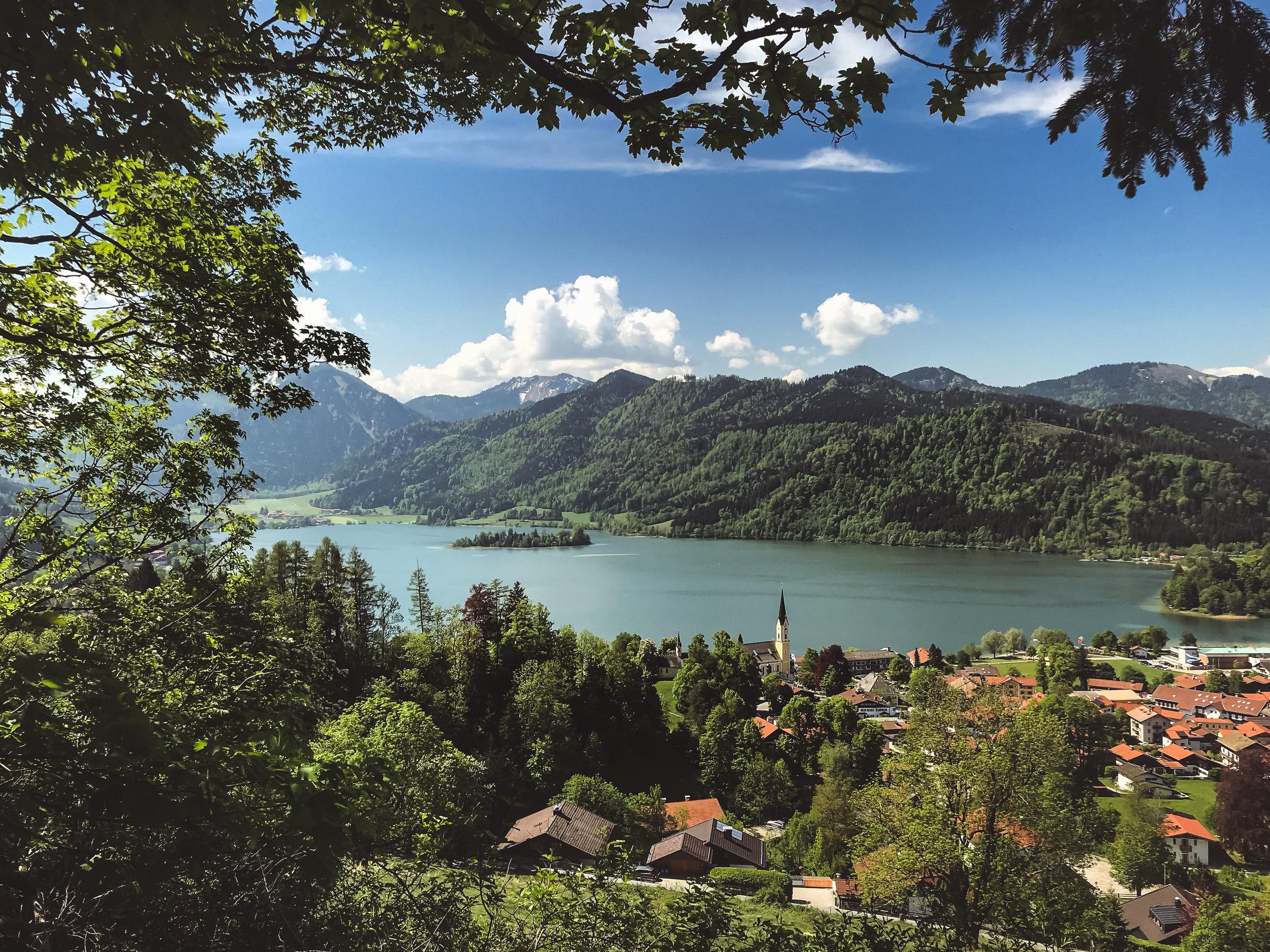 第一天工作坊地點:施利爾塞湖 Schliersee