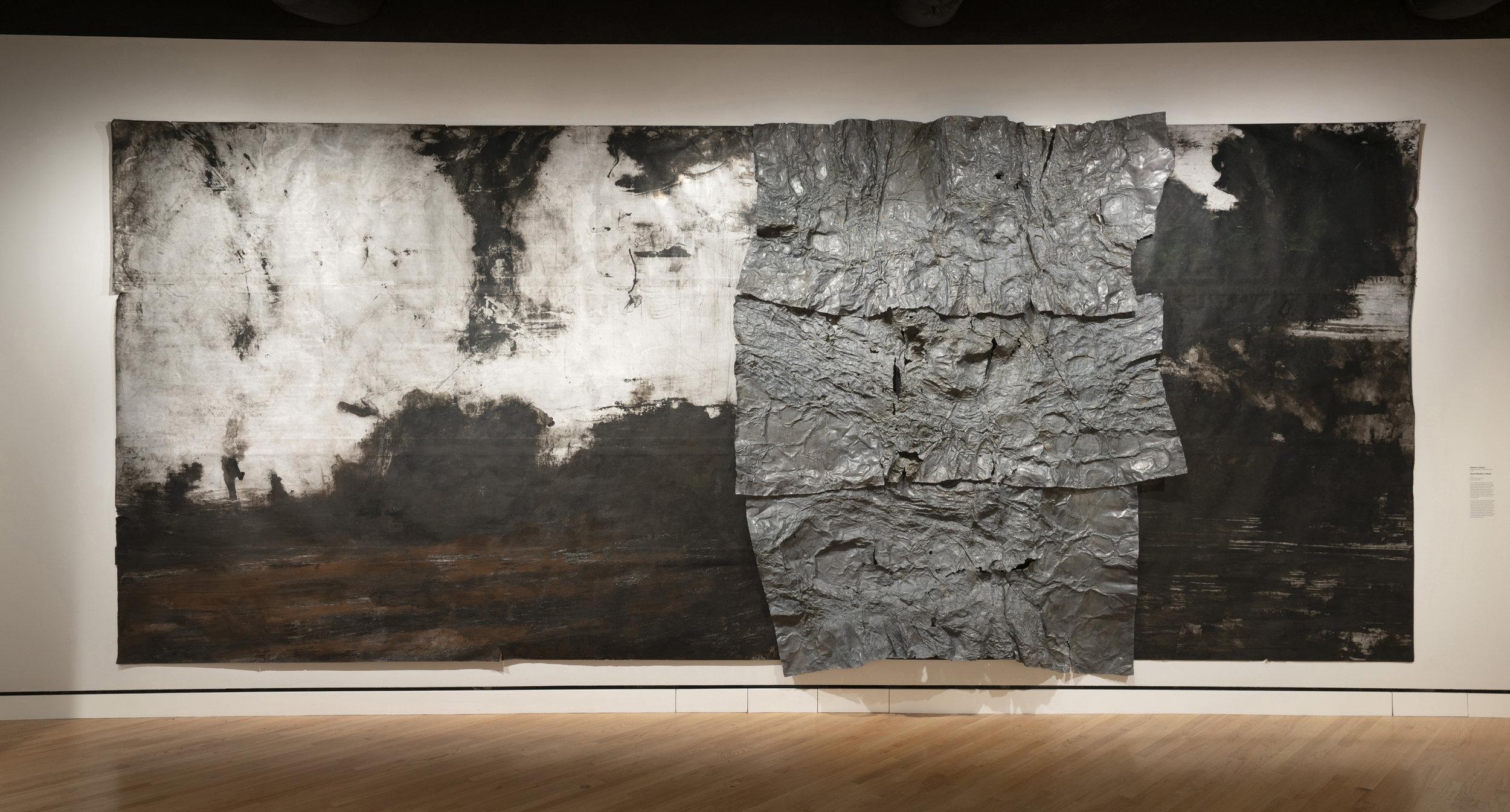 Athena LaTocha, installation view, The Crystal Bridges Museum of Art, Bentonville, AK, 2018