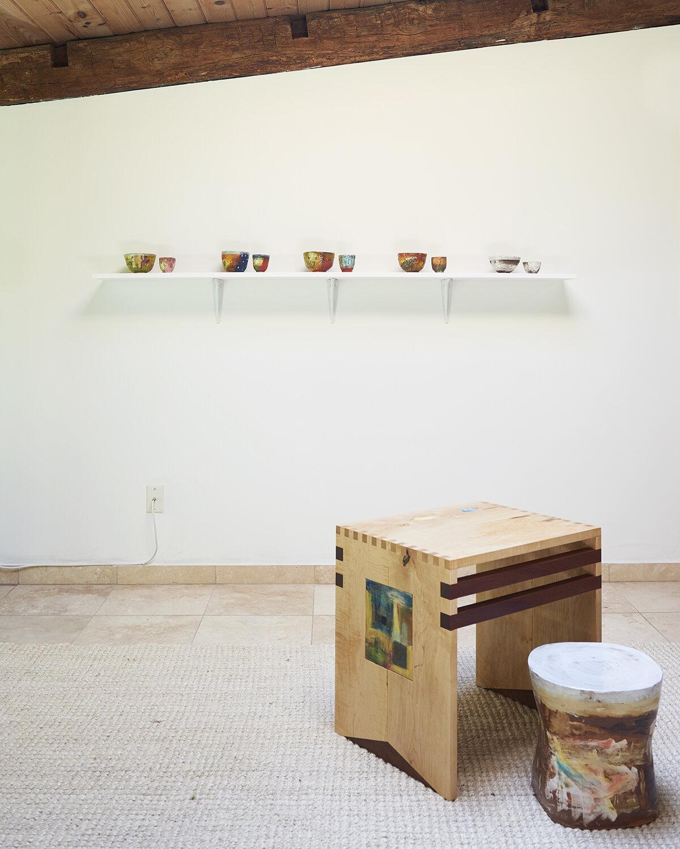 Shino Takeda Installation view JDJ   The Ice House Garrison, NY