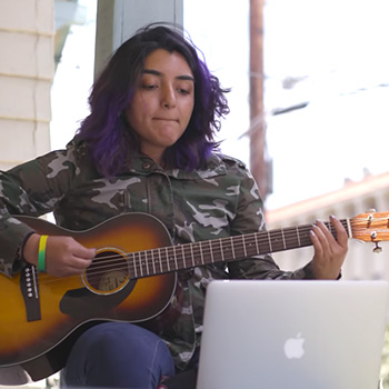 Fender Teams Up With In The Band Students! - Check out the new Fender video featuring our student Sayah!