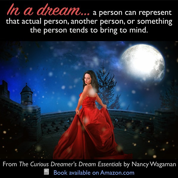 """""""In a dream, a particular person can represent that actual person, another person, or something the person tends to bring to mind for you. The significance of a person in a dream might not be their identity, but instead what they're doing or how, or their attitude or motivation....Also keep in mind that a person can represent a real person you know, a real stranger, an imaginary person, a group, or something intangible such as a characteristic, concept (such as a set of beliefs), activity, time frame, location, or almost anything else."""" Excerpt from The Curious Dreamer's Dream Essentials, Chapter 5: """"Symbol Categories as Analysis Tools."""" Read more about dream interpretation for personal growth for only $2.99, free with #KindleUnlimited. . https://amzn.to/2Wm1xX9 . . . #book #quote #quotes #instaquote #instaquotes #bookquotes #quotestagram #quoteoftheday #quotesaboutlife #quotesdaily #quotesoftheday #qotd #dreams #dreamsymbol #dreammeaning #dreaminterpretation #relationship #dreamabout #dreamperson #symbolism #selfhelpbooks #nonfiction #psychology #possibilities #meaning #learn #grow #KU #KindleDeals"""