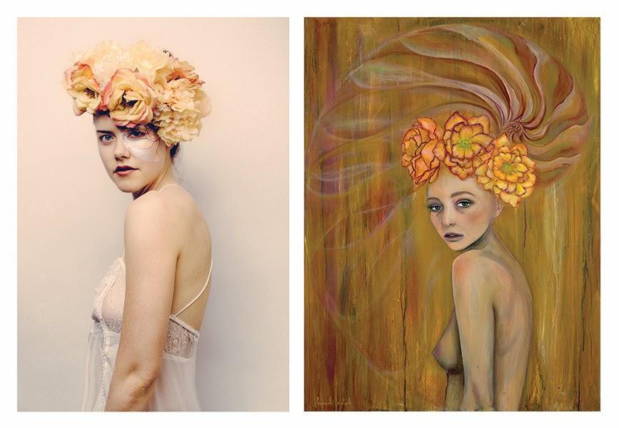 """Julia Vieau as """"Golden Lotus"""""""