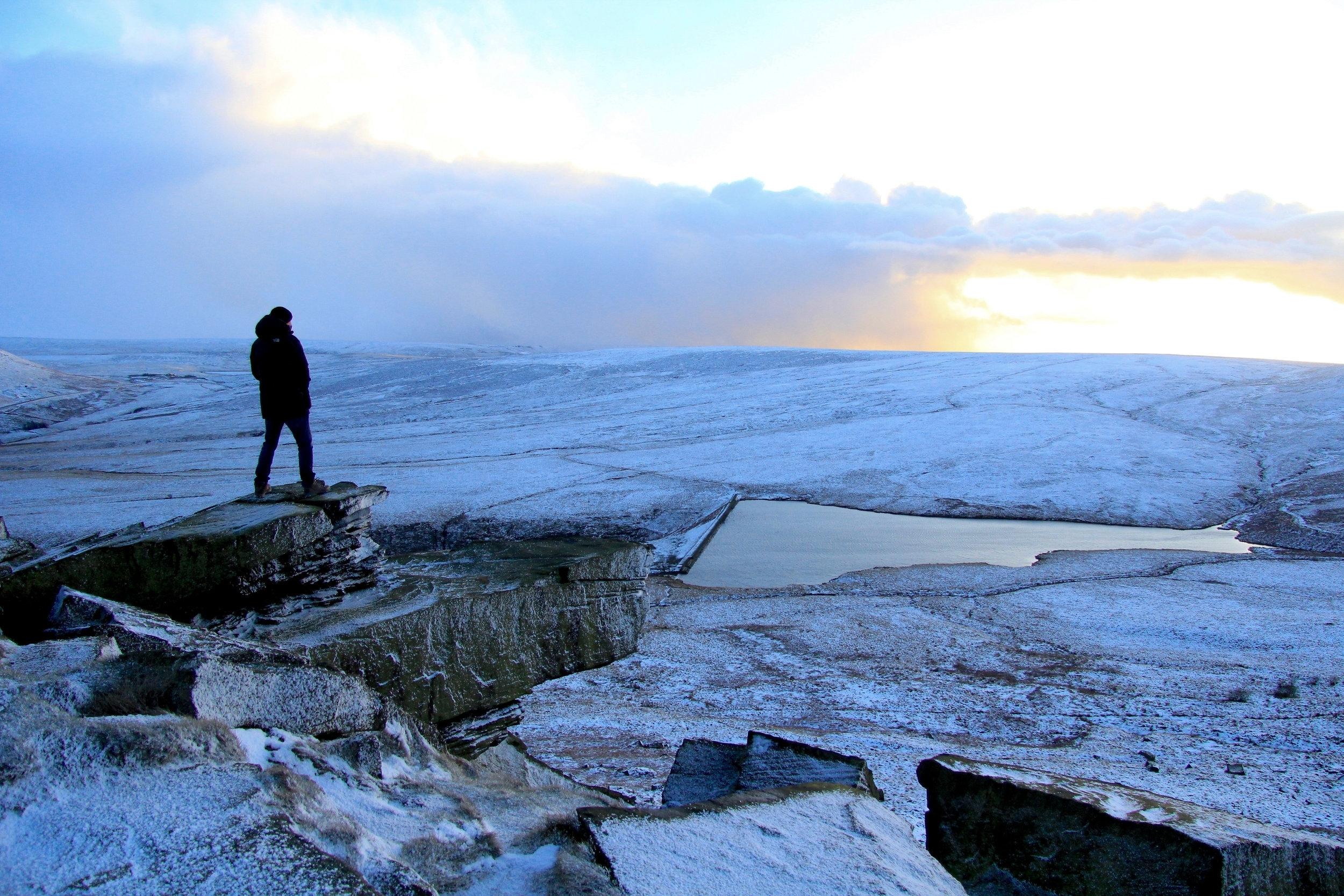 Marsden Moor in Winter