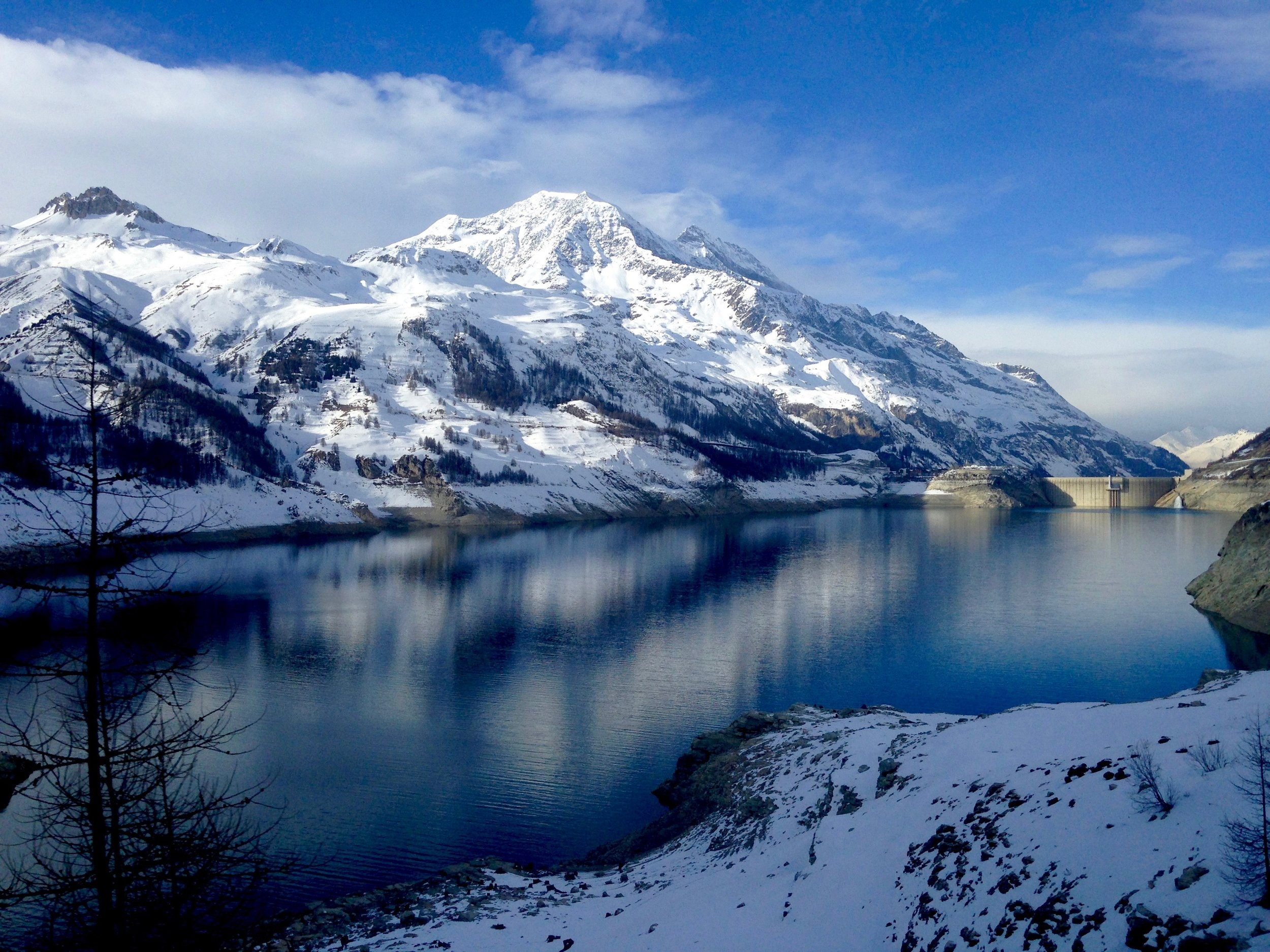 Lac De Tignes, French Alps