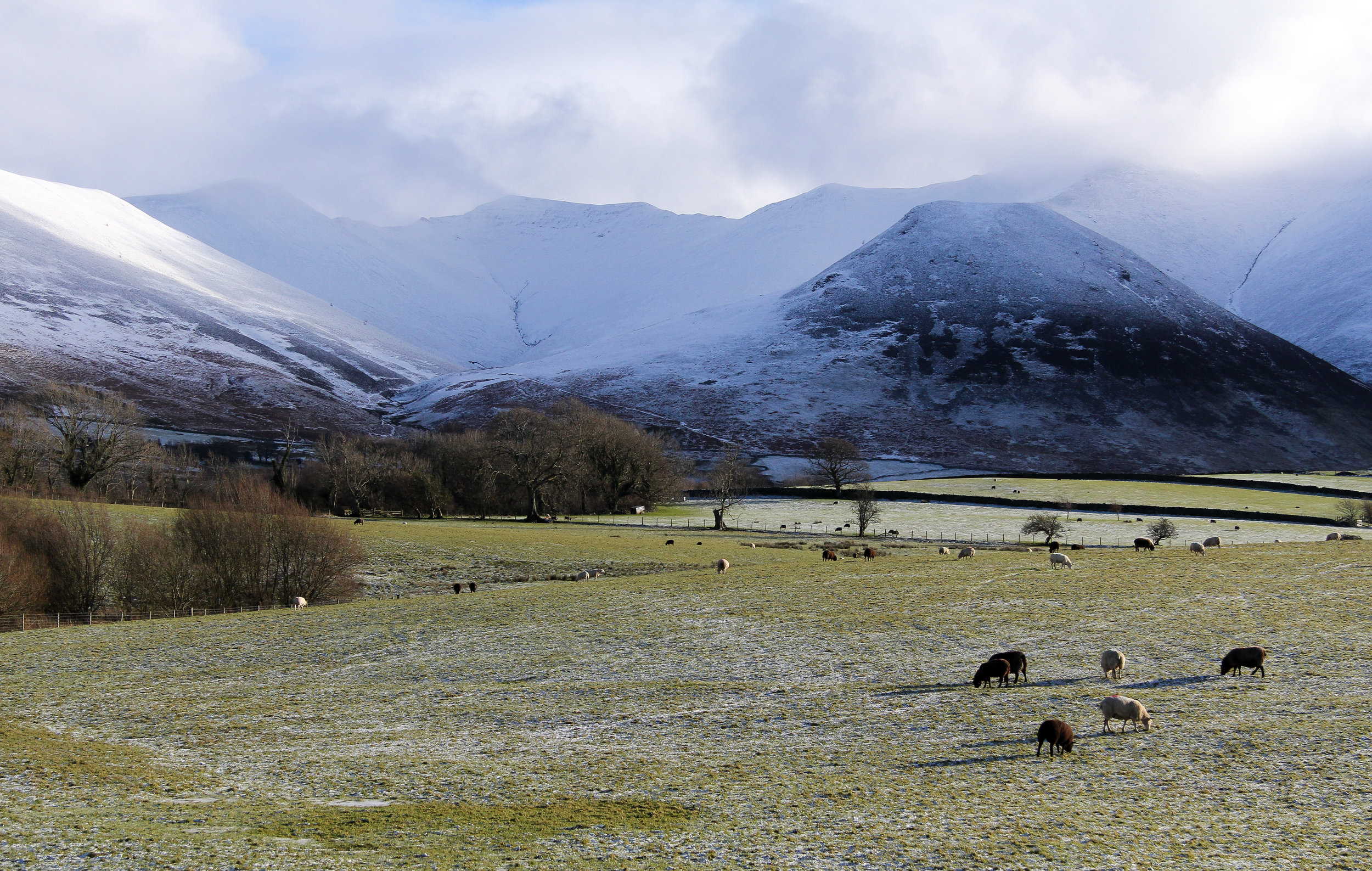 Snow in The Lake District