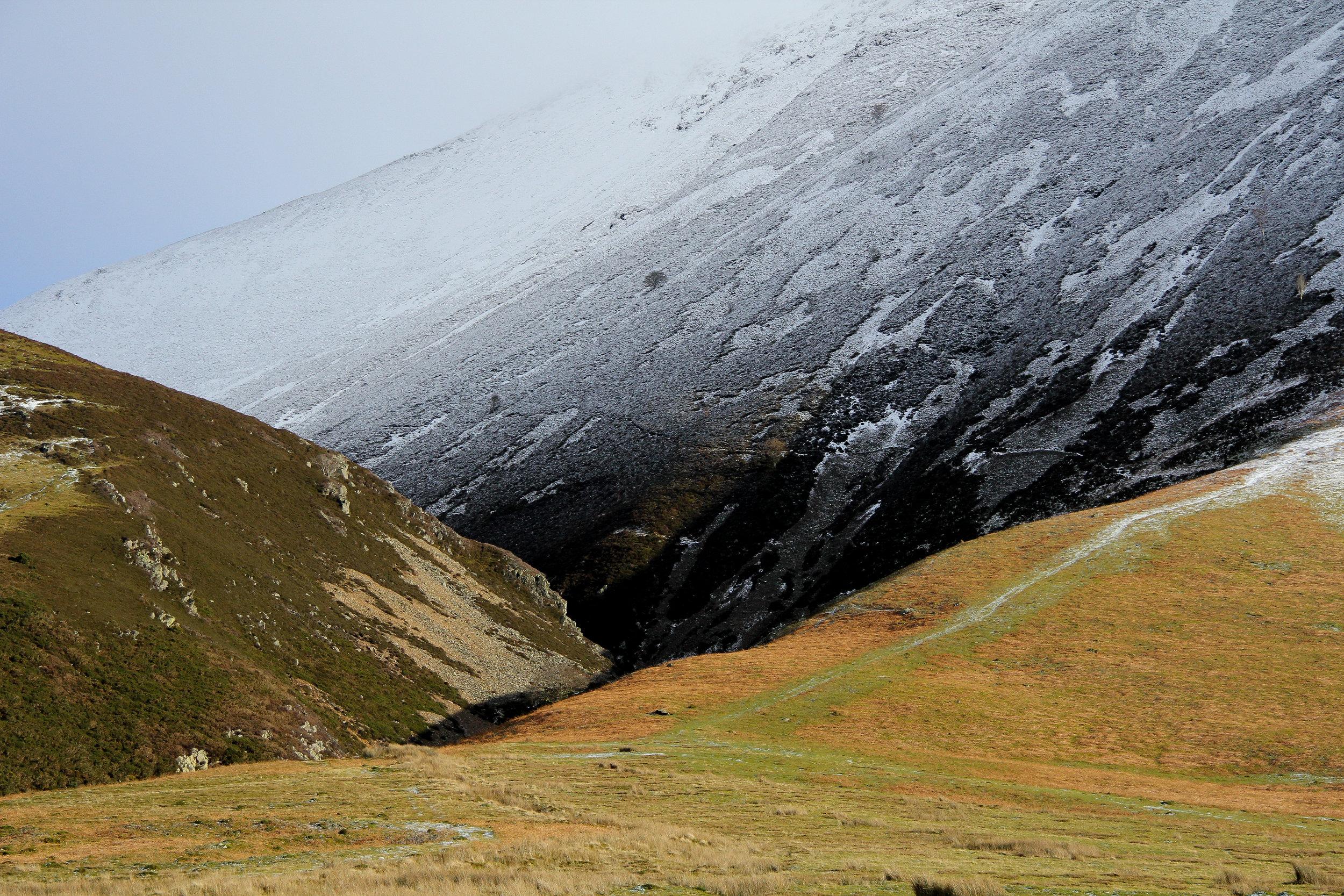 Winter Contrast at Grasmoor