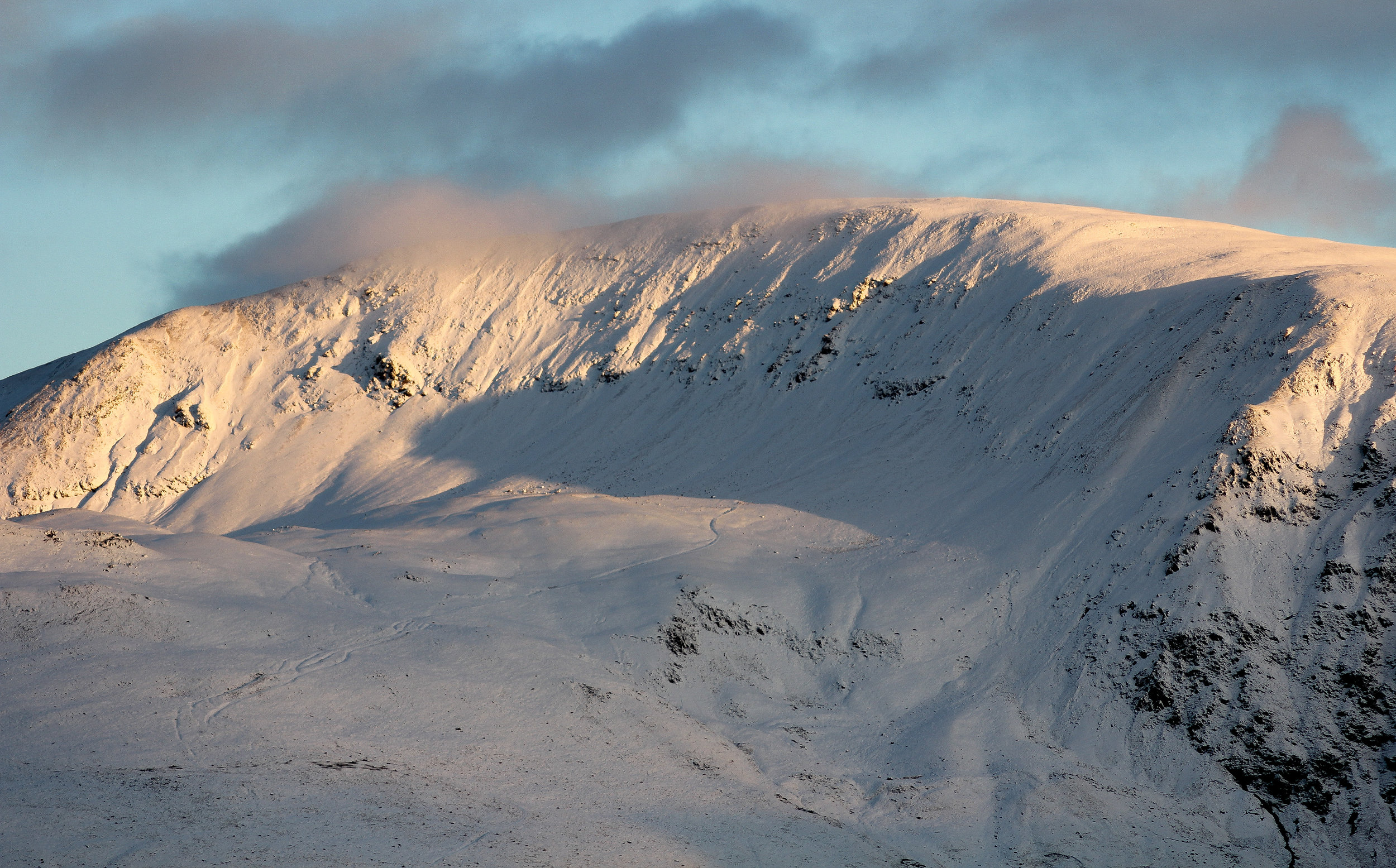 Snow in The Lakes