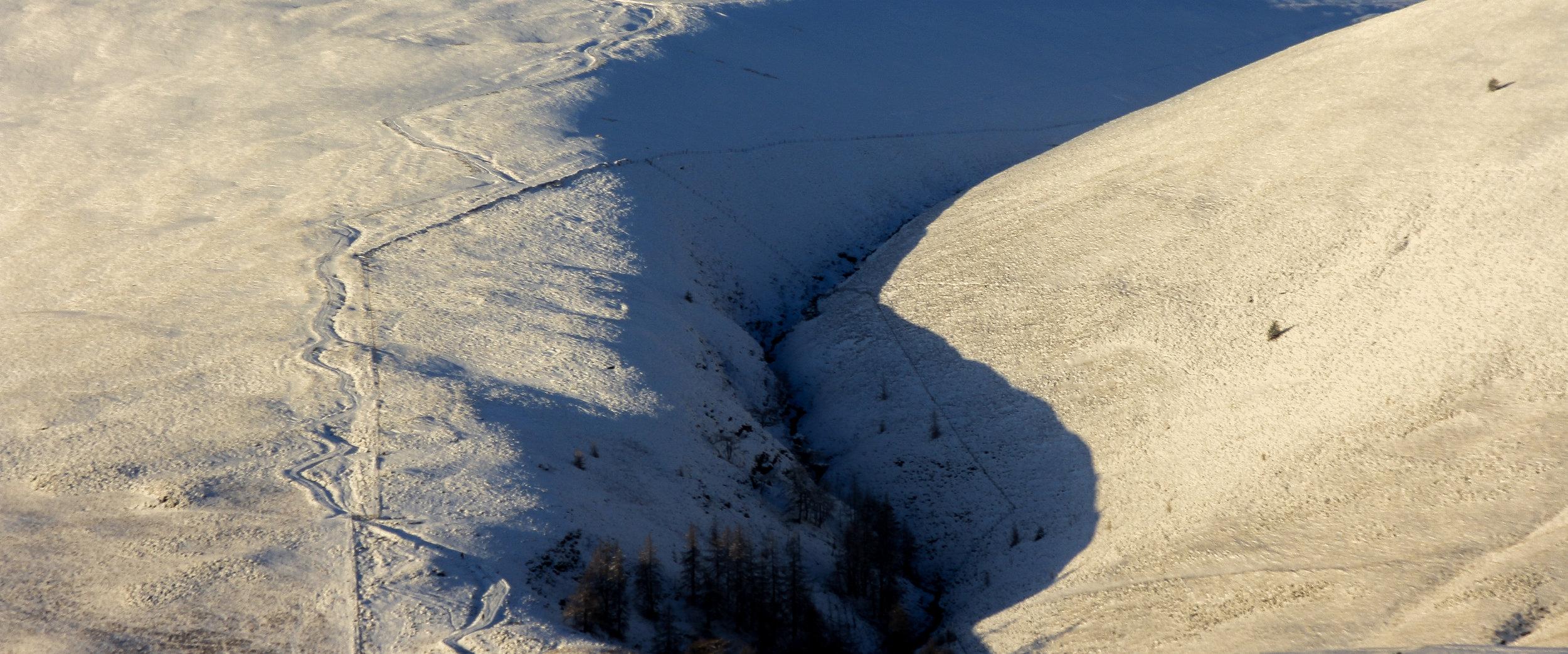 Snow Contrast on Blencathra