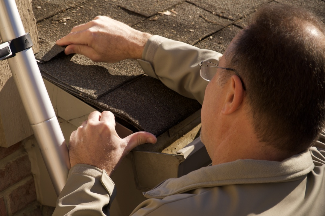 As long as it is safe to do so, I try to get up on the roof. I search for any possible leaks, hail damage, or other damages, and identify any areas that I think may present future issues.