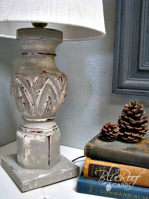 BROKEN TABLE INTO LAMP