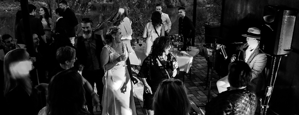Get those guests up and into party mode - be sure to hit the dance floor! photo by Sophia Doellstedt
