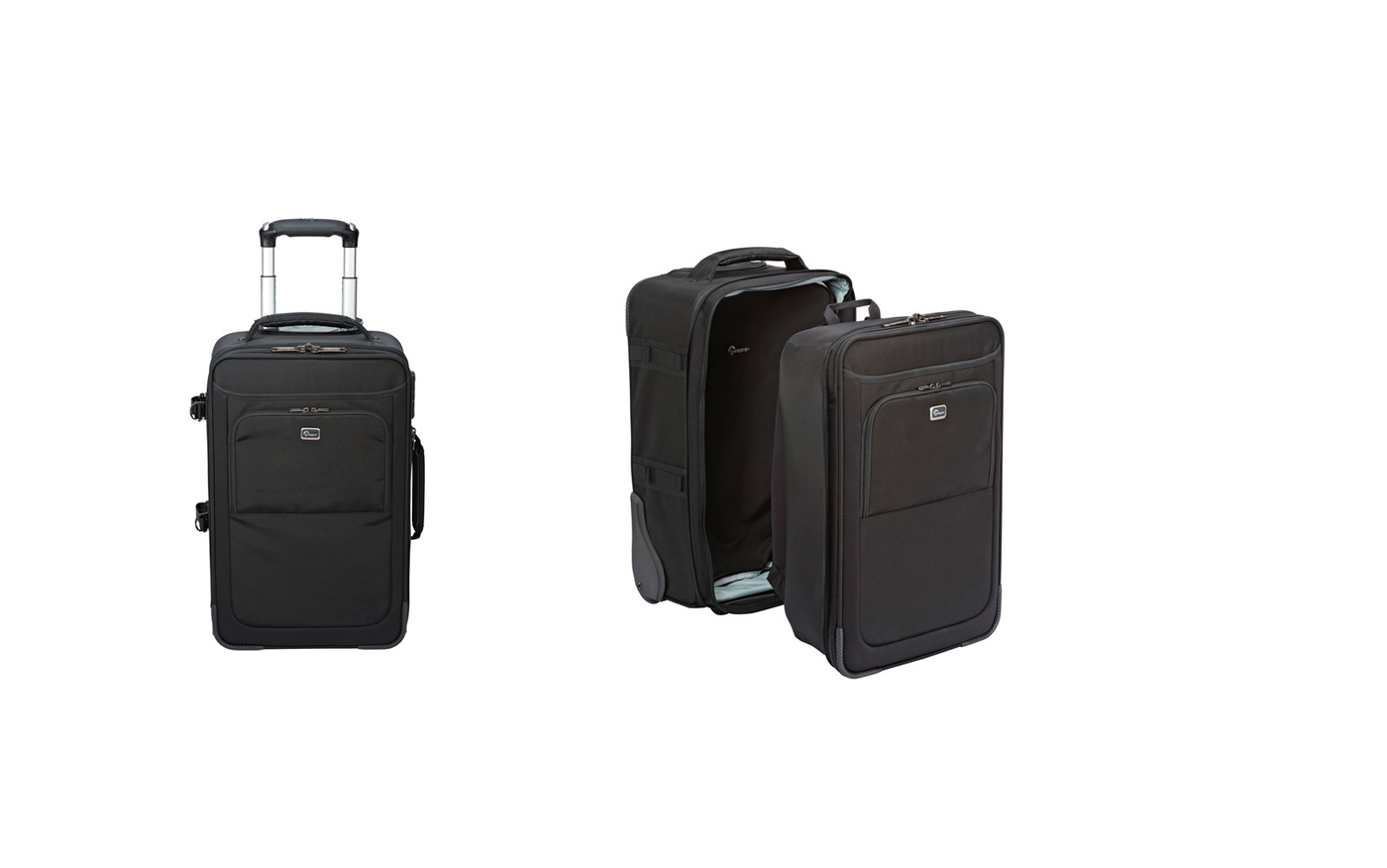Lowepro Roller x200 - The shell comes off and the interior becomes a backpack.