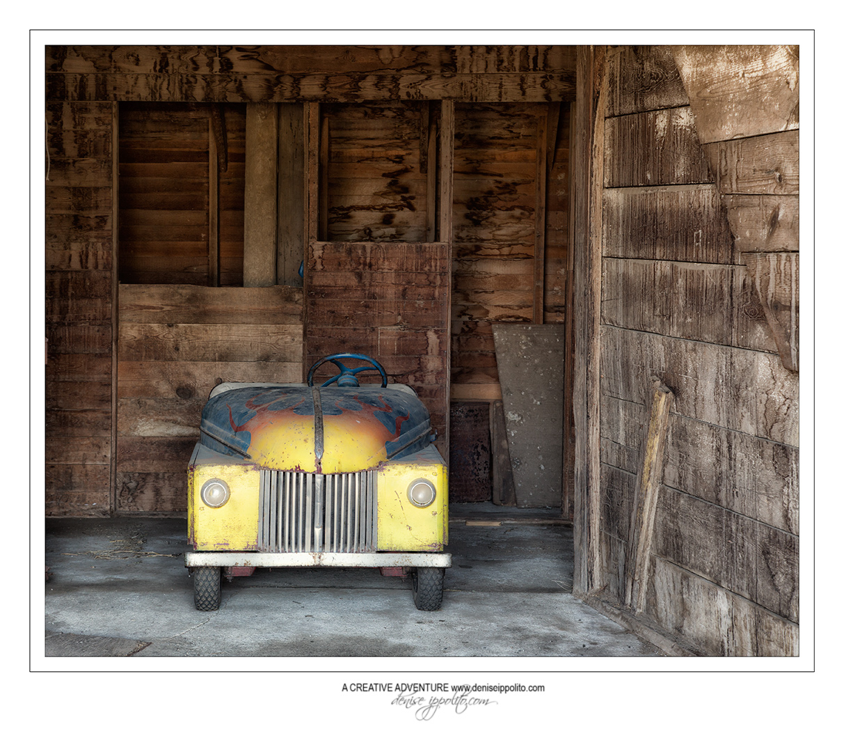 Old Box Car, photographed by Denise Ippolito 2015
