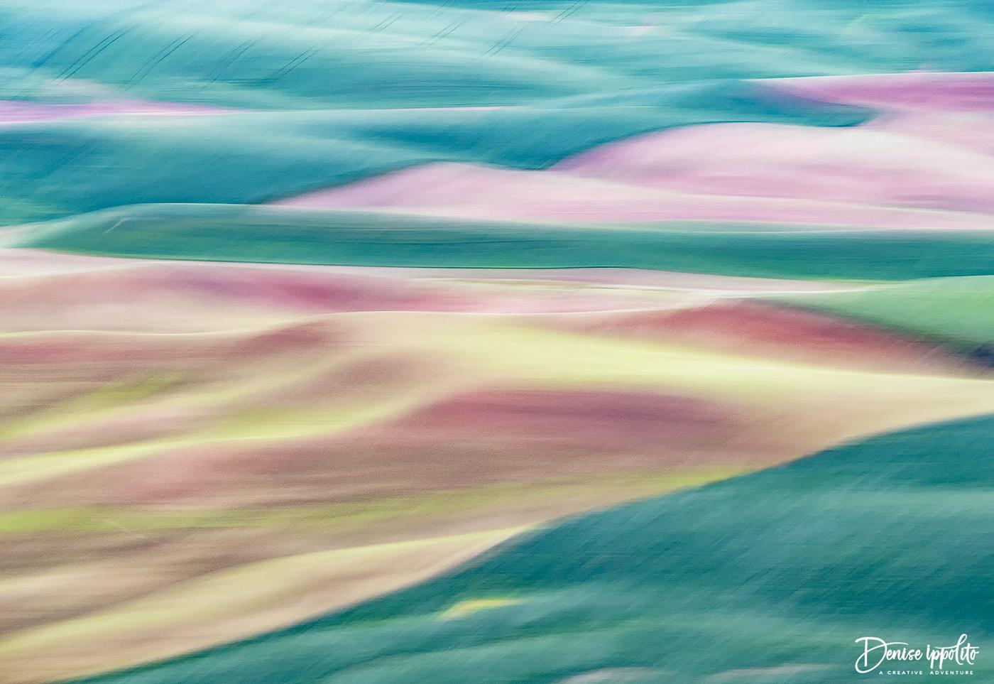 1/6 sec. pan blur