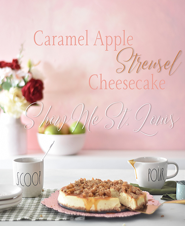 Live Caramel Apple Cheesecake demonstration on KSDK Show Me St. Louis. Click  HERE  to watch, find full recipe  HERE