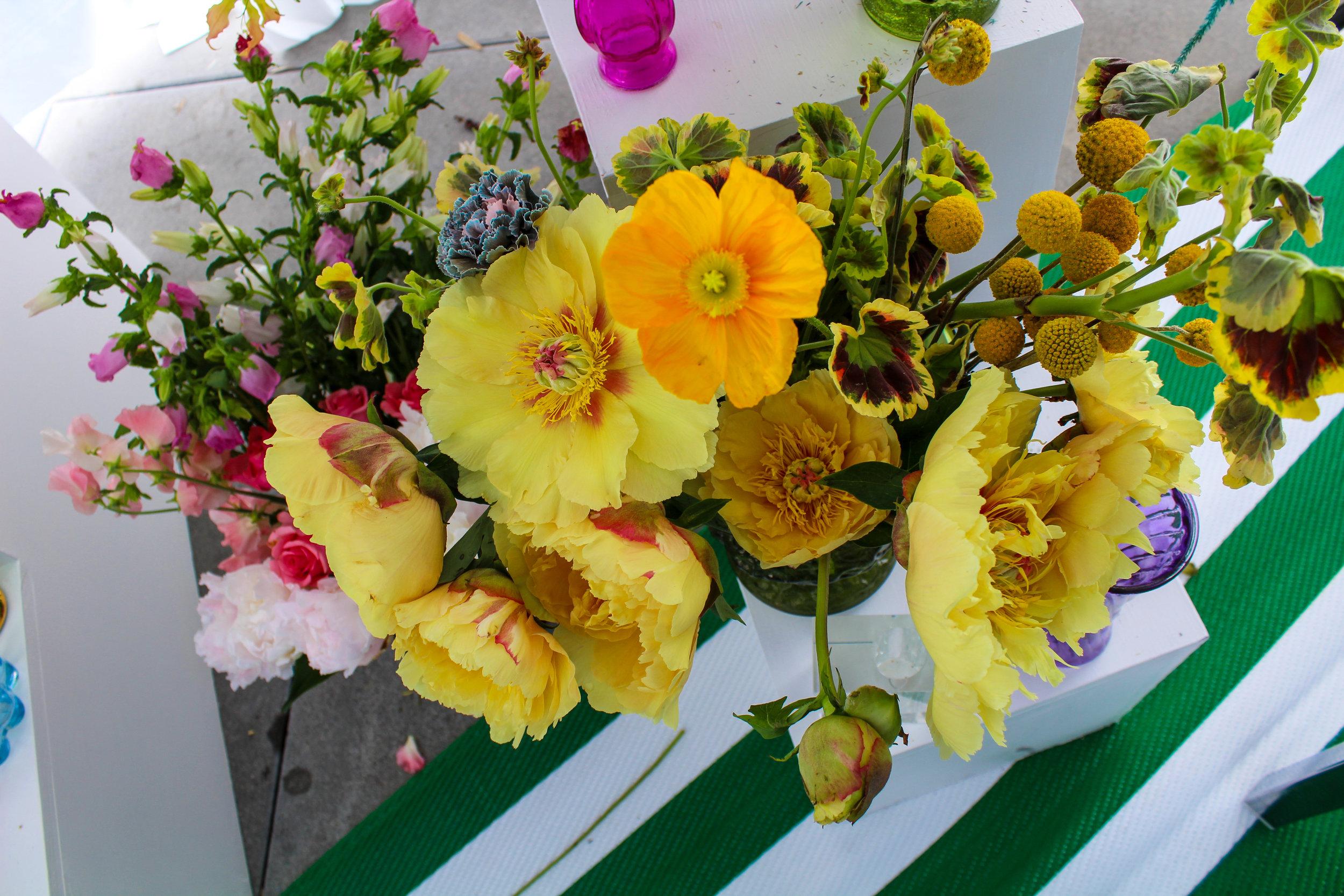 CCC © In Bloom Broccoli Magazine Edie Parker Flower