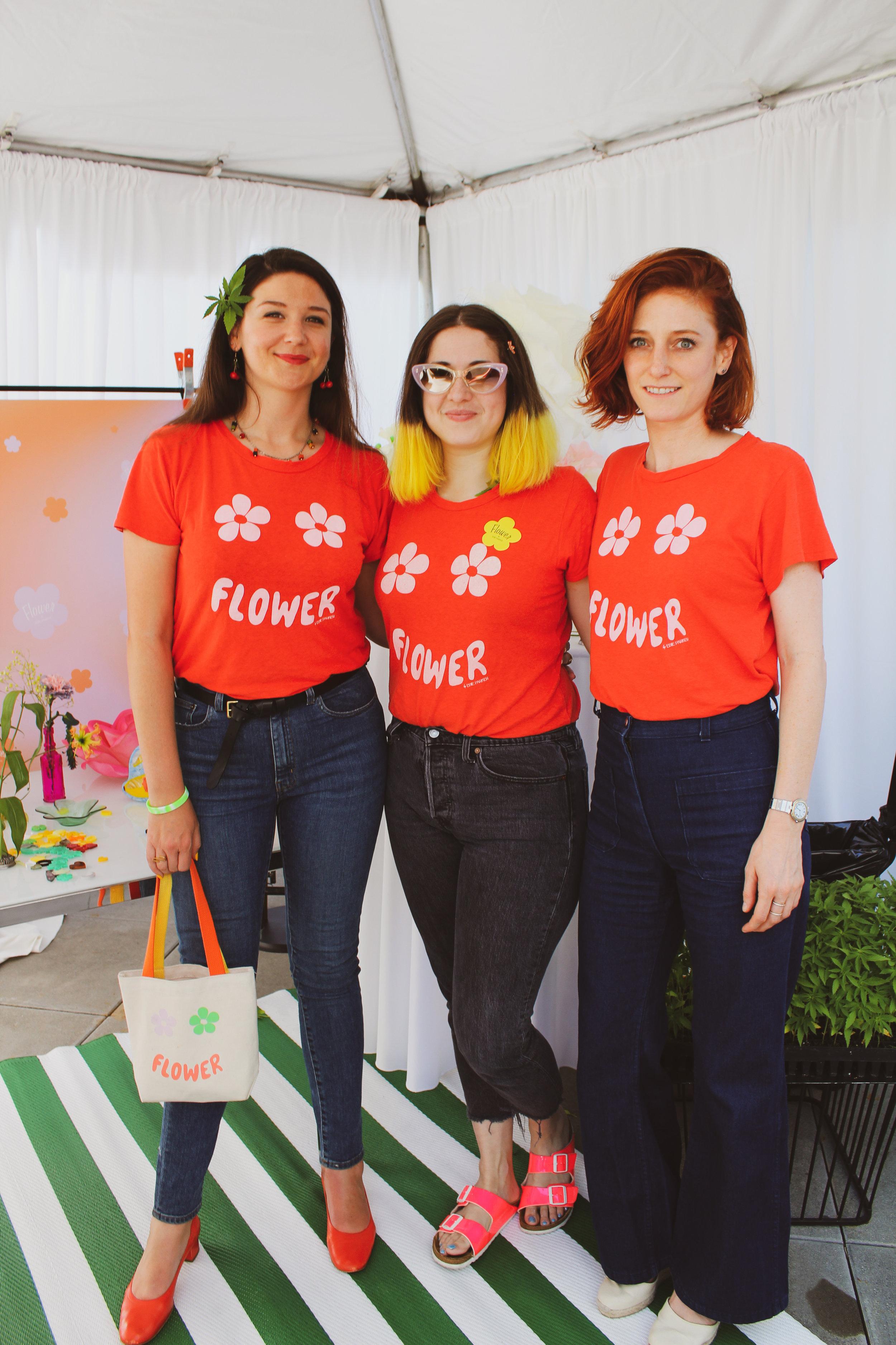CCC © In Bloom Broccoli Magazine Edie Parker Flower Team