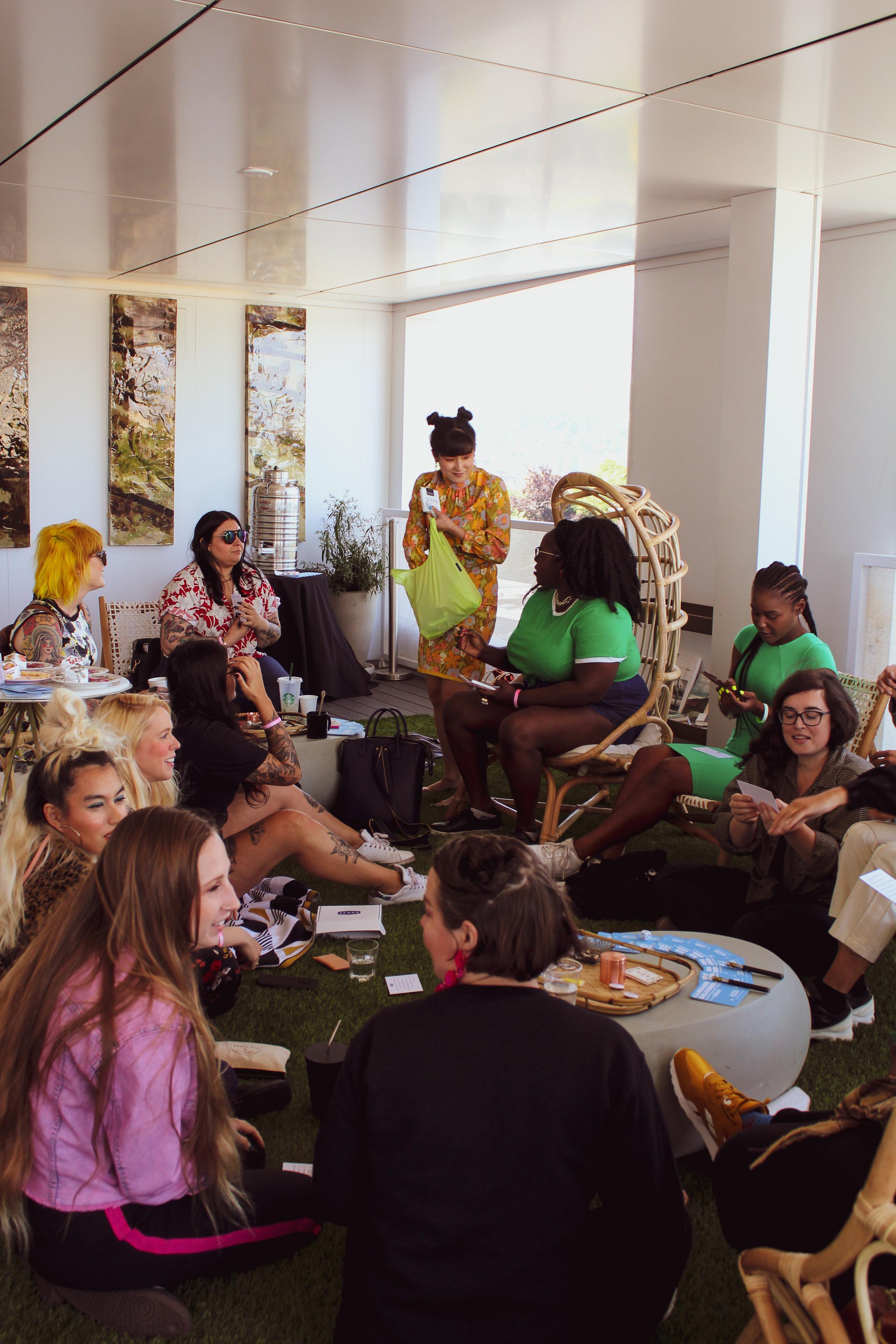 CCC © In Bloom Crowd Smoking Lounge Jupiter Next Portland