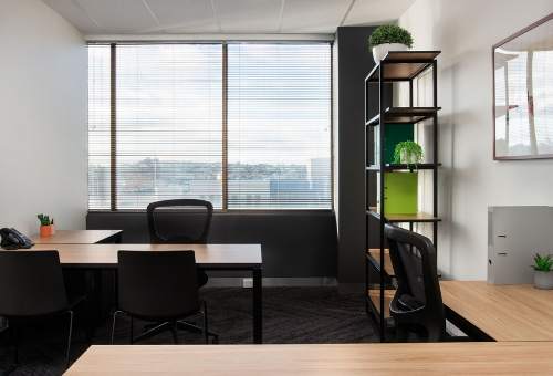Office Space - Serviced office suites available on month-to-month terms. A range of sizes and fit-out options available. All include high speed, secure internet, access to meeting rooms, printers, reception and secretarial services.