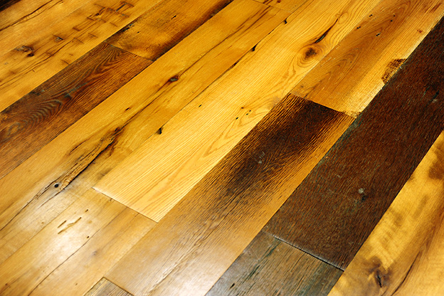 Flooring - Carefully preserved timber produces wood floors with great character. We create antique and rescued wood floors in a range of wood species, sizes and styles. Guests will be awed by the unmatched beauty and character of your reclaimed wood flooring.