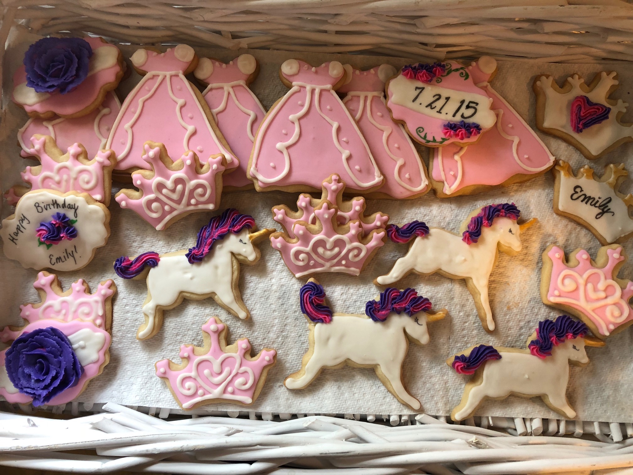 Princess Parties   Cookies for a little princess!