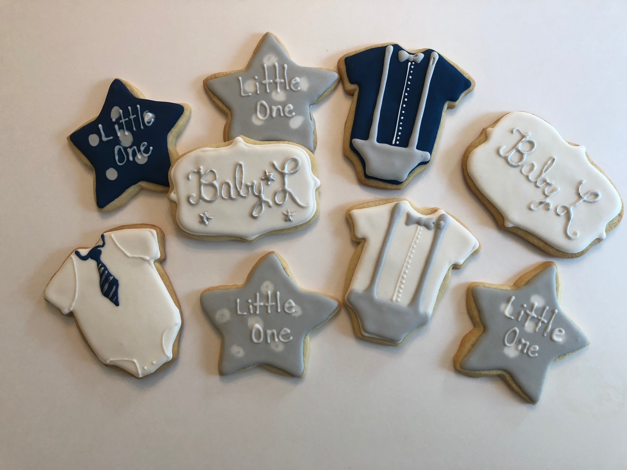 Baby shower cookies   I make a variety of baby shower cookies based on the theme of your party.