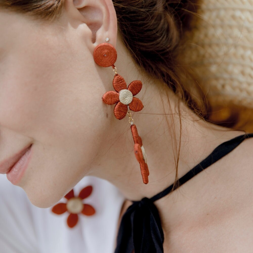 Last Dibs - A Portion Of Our Daisy Earrings Sales Go To Organizations Trying To Stop Child Trafficking.