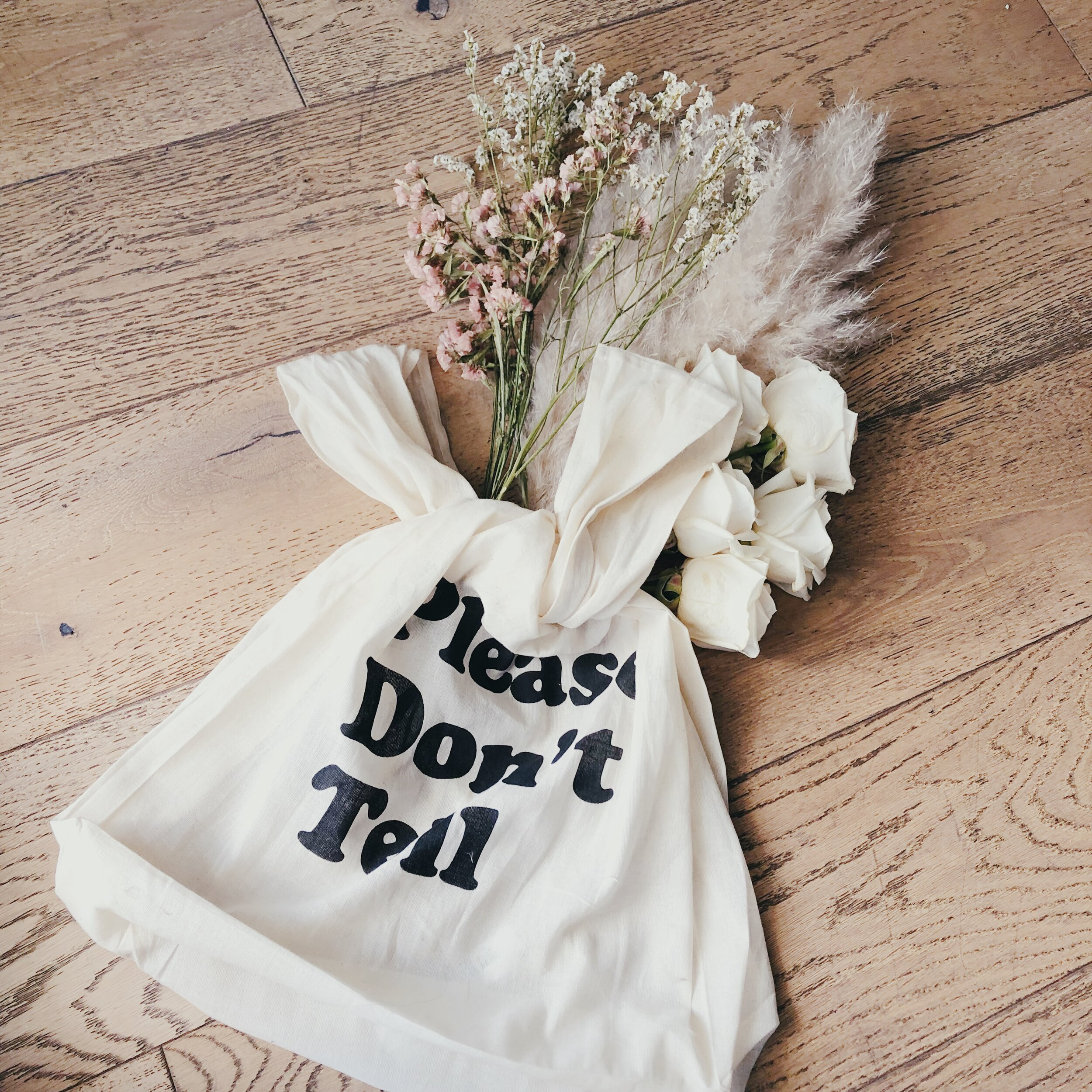 In Love - Our Reusable Bag (Free With Purchase) Carries 50 pounds of groceries! - True Story!