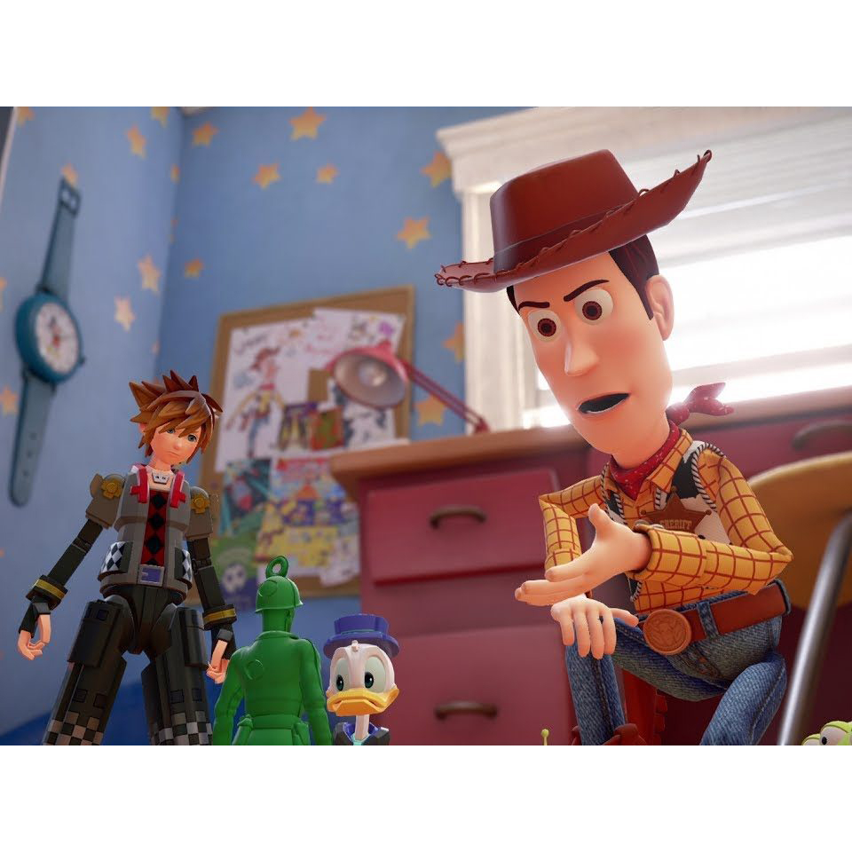 Kingdom Hearts 3 D23 2017 Toy Story Trailer