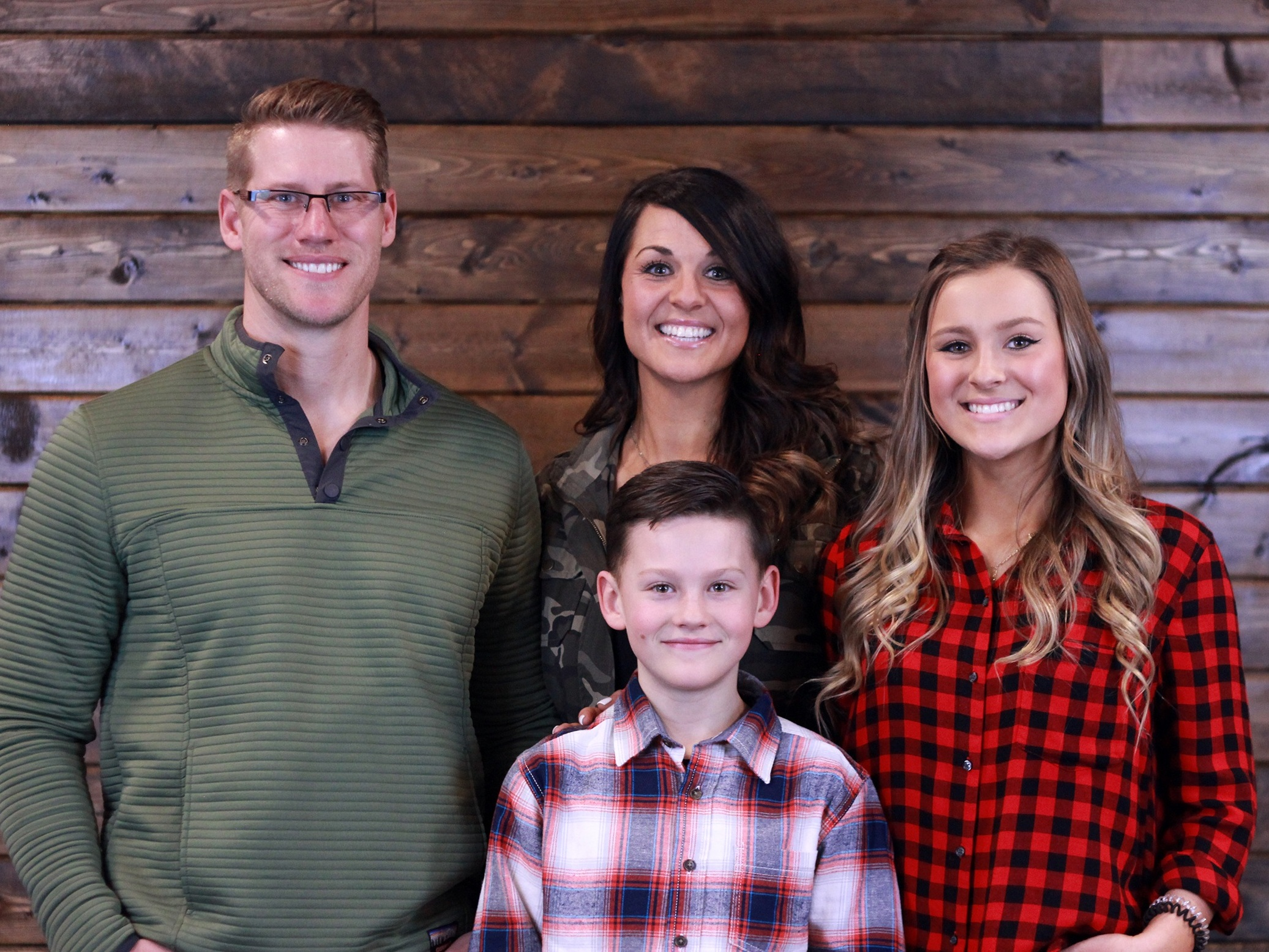 Pastor Seth Koetitz, his wife Katy, and his children: Jackson & Joee