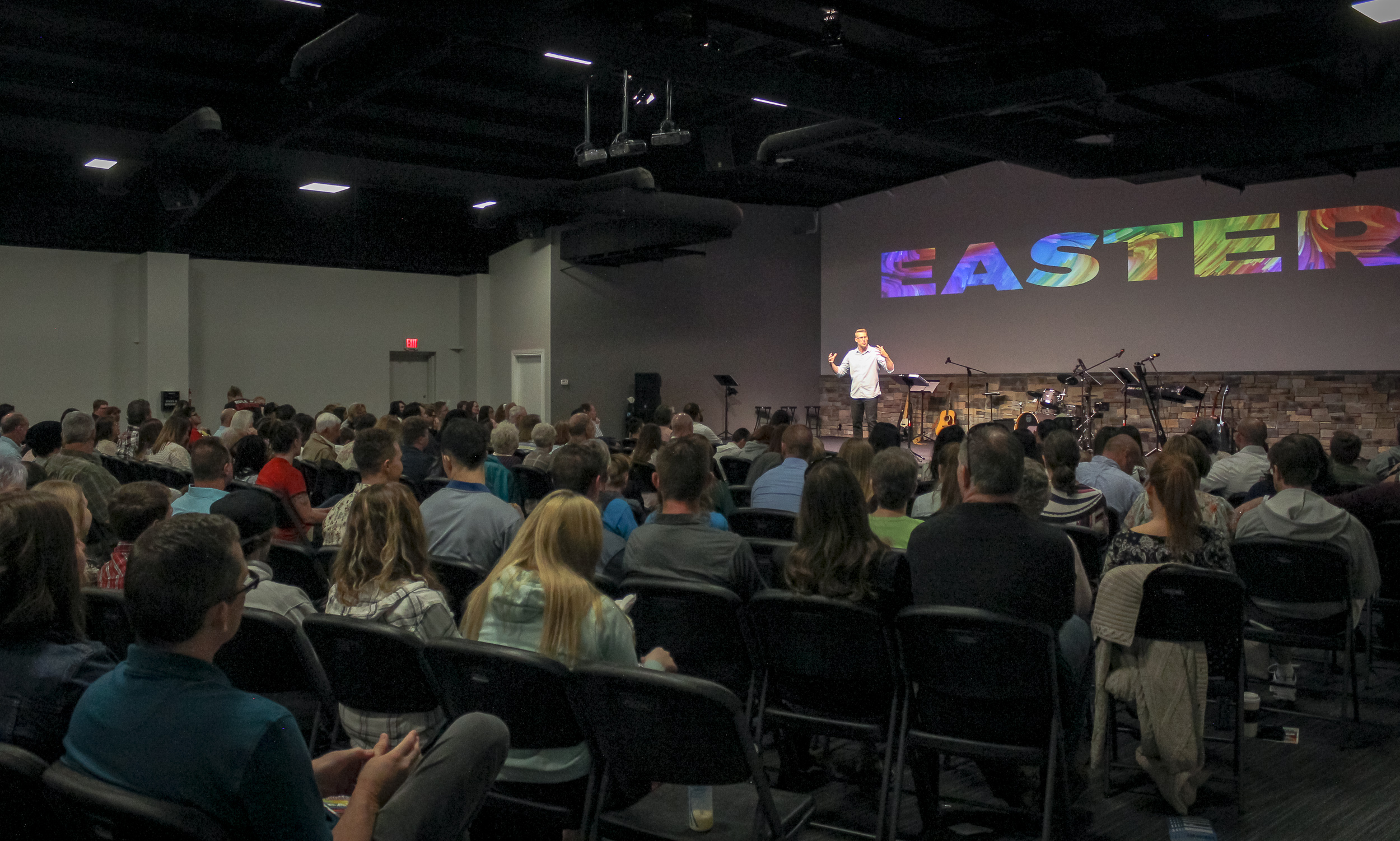 Easter Service on April 21, 2019 in our current Worship Center.