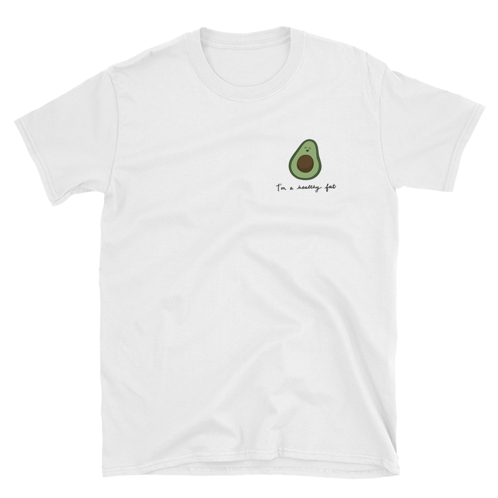 avocado white tee