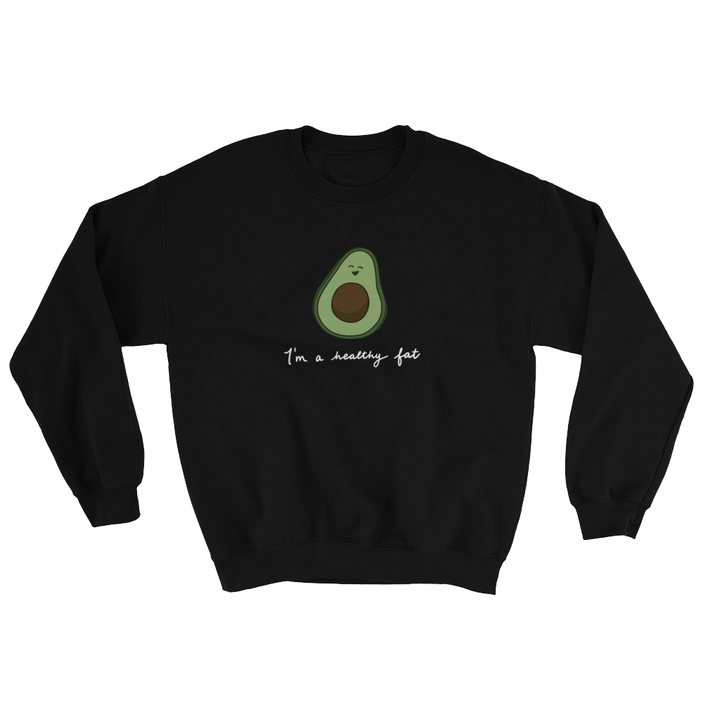 black avocado sweatshirt